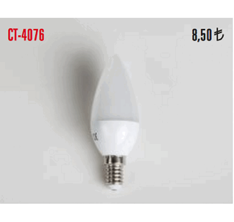CT 4076 LED BUJİ AMPÜLLERİ 5W -CT 4076 LED BUJİ AMPÜLLERİ