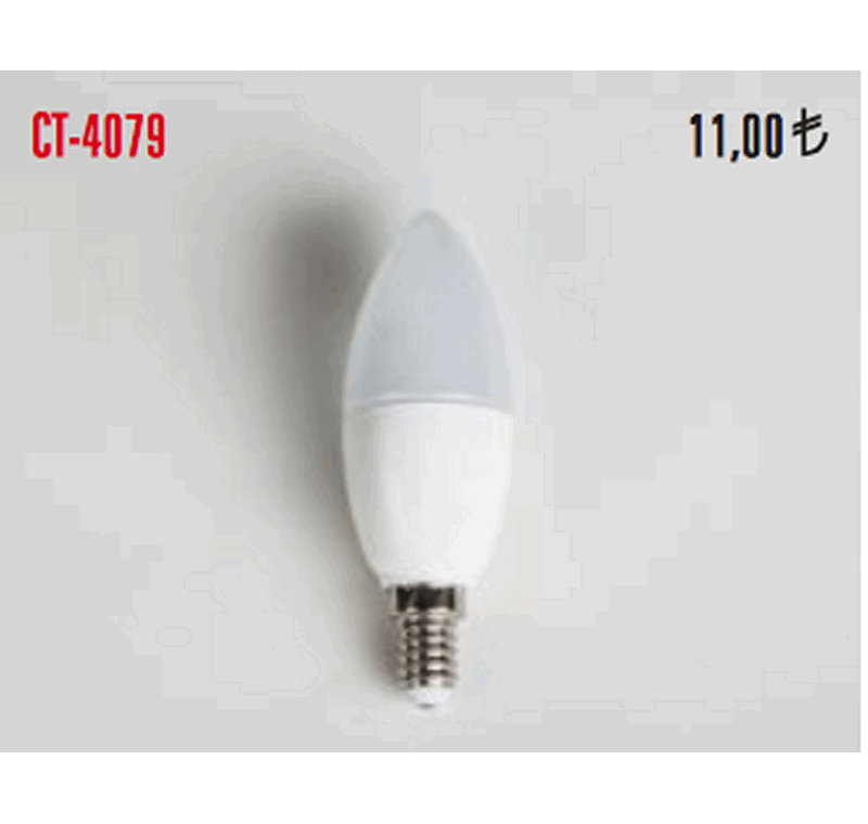 CT 4079 LED BUJİ AMPÜLLERİ 7W -CT 4079 LED BUJİ AMPÜLLERİ