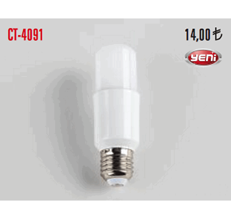 CT 4091 LED BUJİ AMPÜLLERİ 9W -CT 4091 LED BUJİ AMPÜLLERİ