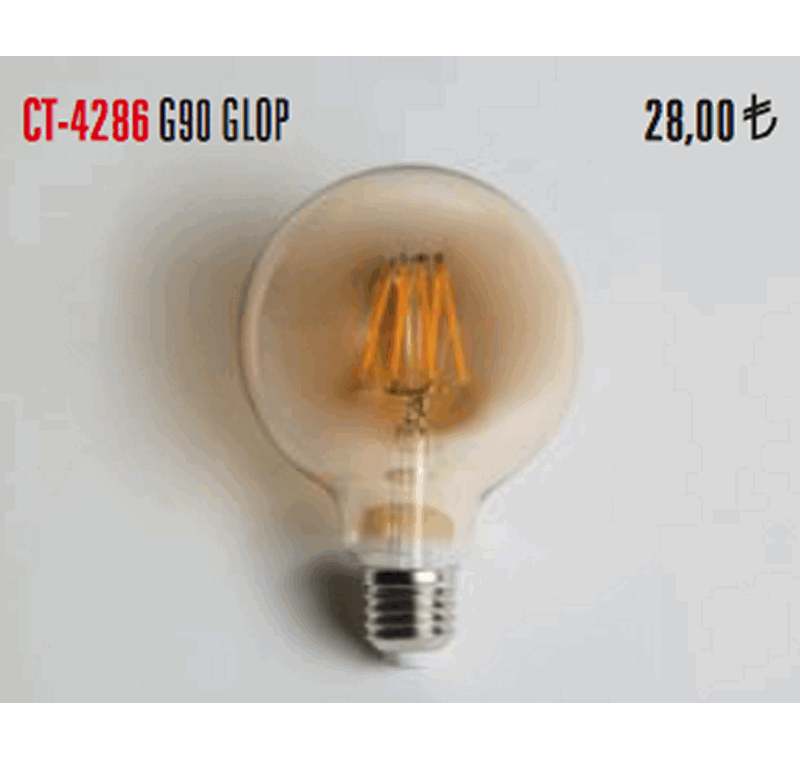 CT 4286 RUSTİK LED AMPÜL 6W -CT 4286 RUSTİK LED AMPÜLLER