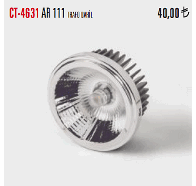 CT 4631 LED FLORESAN AMPÜLLER -CT 4631 LED FLORESAN AMPÜLLER