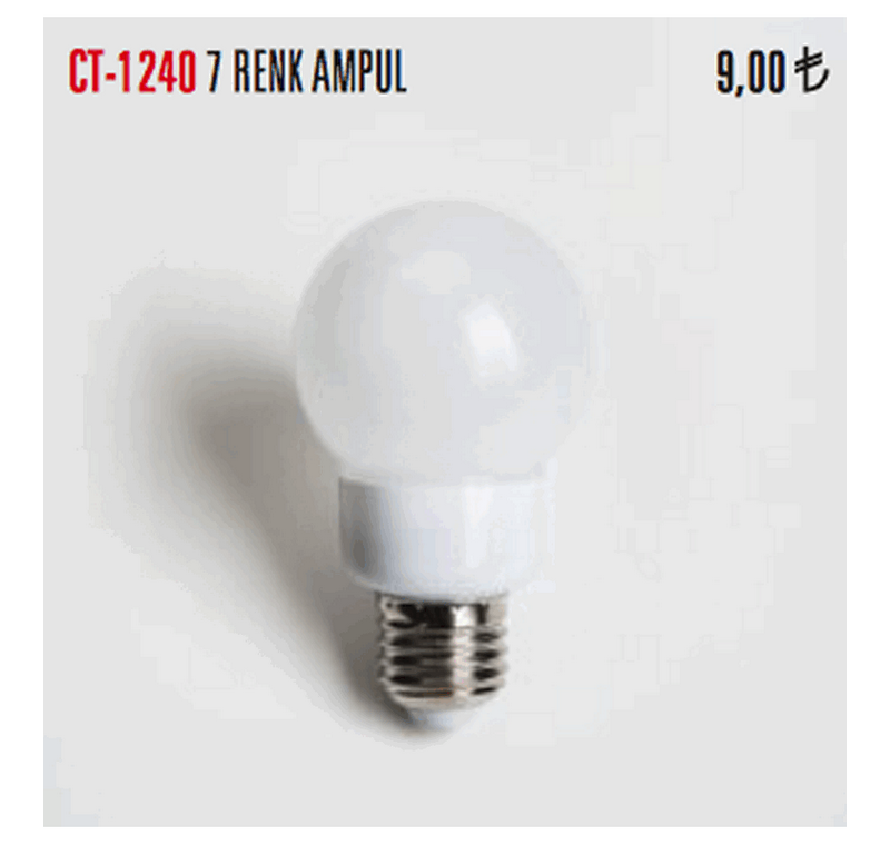 CT 1240  LED  AMPÜLLER -CT 1240  LED  AMPÜLLER